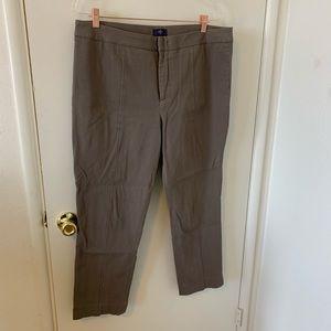 NYDJ mushroom colored ankle pants size 16